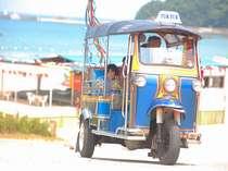 もうすぐ夏!海水浴シーズンには、トゥクトゥクでビーチまで無料送迎します!