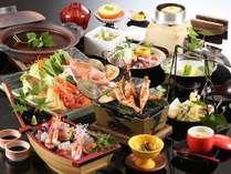 彩り豊かな美味しい海鮮会席 [一例]