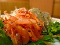 地元の駿河の幸。刺身もよし、かき揚げも最高です。