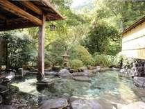 【長寿風呂】夜間19時30分~明朝7時(繁忙期は22時~6時30分)までは、貸切風呂