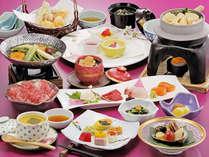 素材を活かした『日本料理』会席コース(イメージ)