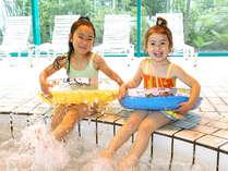 【キッズプール】お子様も安心!大人気の室内プールにキッズプールもございます。