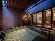 【テラス露天風呂付ツイン】滞在中は草津の名湯を独占