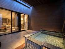 【テラス露天風呂付ツイン】源泉掛け流しの露天風呂で草津温泉をひとりじめ