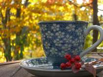 【朝の一杯】コーヒーチケットをお配りしています。お好みの場所でお好みの時間にコーヒーをどうぞ