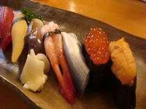 カウンターで食べる寿司は絶品