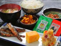 【★無料朝食★】バランスの取れた定食メニューで元気な一日を♪