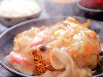 【★無料夕食★あんかけそば】家庭的な定食メニュ―♪日替わりで10種類以上♪