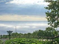 日勝峠の雲海を楽しむためにはちょっとしたコツがあります。条件さえそろえば、眼下に雲の波が!