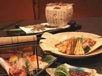 富山湾 春の味覚コース (春ならではの富山の食材をお楽しみ下さい)