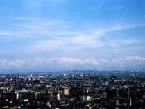 【お部屋からの景色】※天気によって立山連峰が一望できます