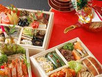 1月1日~3日までは 朝食におせち料理がメニューに追加♪
