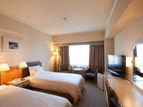 【スタンダード ツインルーム】お部屋の広さ22平米ベットサイズ 110cm×1950cm