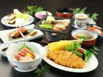 旬の食材をふんだんに使ったお食事をお楽しみください。