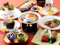 北海道の秋の彩り。秋海の幸とかわいい道産野菜~味覚会席~