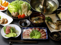食事(例)垂水カンパチコース