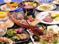伊勢海老と金目のカルパッチョや冷製スープなど「Jフレンチ」の品々