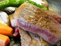 肉質を厳選した国産牛のとうばん焼き