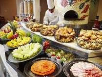 朝食ブッフェ 小倉トーストなどの名古屋名物も是非お試しください。