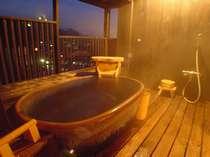 こてまり(森山館露天風呂付客室)の露天風呂