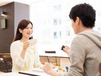 ◆栄養バランスを考えた無料朝食でエネルギーをチャージ!
