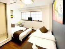 ツインルーム203号室