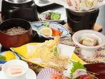 【夕食】季節のおまかせ会席料理