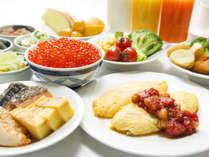 【朝食ビュッフェ】栄養たっぷりのバイキングで一日の元気をチャージ