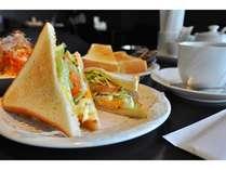 【朝食】朝食はホットとコールドのドリンクを2種類選んでいただけます♪