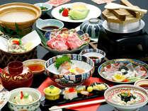 【四季彩々・グルメ・お部屋食】こだわりのご夕食はお部屋でゆっくりと♪世界遺産候補の町並みで過ごす休日