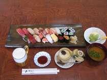 江戸前寿司腹いっぱいコース。築地、銀座で修行した腕はうそをつきません。