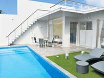 温水プライベートプール(2ベッドルームタイプ)