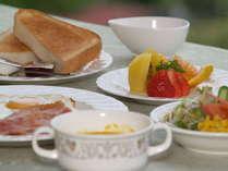 ご朝食☆洋食☆毎日メニューが変わるので、長期滞在にも嬉しい♪(和食もございます)