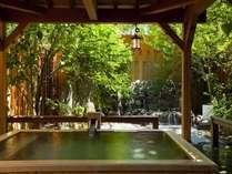 ・貸切露天風呂「檜の湯」