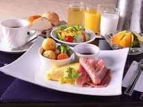 *ご朝食一例♪1日の元気は朝ごはんから!