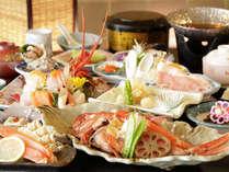 【夕食】季節の会席料理(一例)