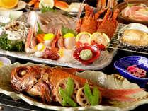 【夕食】贅沢会席プラン 季節の一例