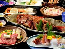 【夕食】お食事処でお得プラン 季節の一例
