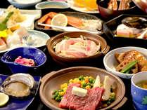 【夕食】季節の一例