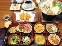 ■和懐石御膳:刺身盛+ヘルシー懐石御膳は、よりスタンダードな料理をご希望のお客様向けのお食事です♪