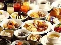 ブリーズベイホテルグループ考案の朝食バイキングメニューはヘルシー&ボリュームタップリです!