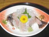 岩魚(いわな)のお造りプラン
