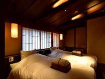 藤紫(京町屋ツイン風和室)町家の雰囲気をお楽しみいただけます。