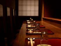 食事処『一祥瑞』カウンターでのライブ感をお楽しみ下さい。