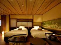 常盤(京町屋トリプル風和室)しっとりと落ち着いた雰囲気はまるで隠れ家の様な空間です。