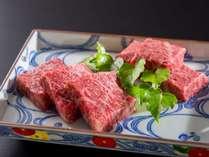 舌触り滑らかな京都牛食材イメージ