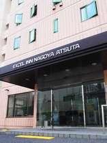 エクセルイン名古屋熱田の入り口となります。