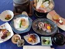 江ノ島四季会席プランのコース(イメージ)