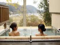 【満天星 露天風呂】満天の星空を眺めながら浸かる寝湯は一押しです