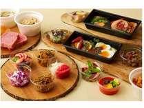 ステイde朝食DELI+選べるサイドメニュー